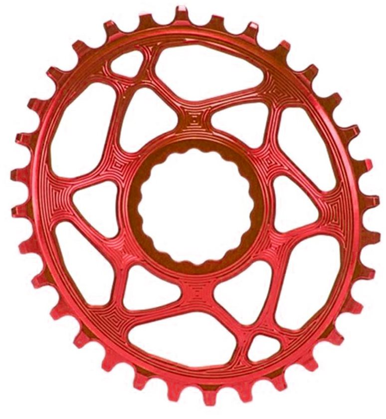 Absolute Black Cinch Oval Chainring