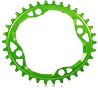 Absolute Black 104/64 Oval Chainring