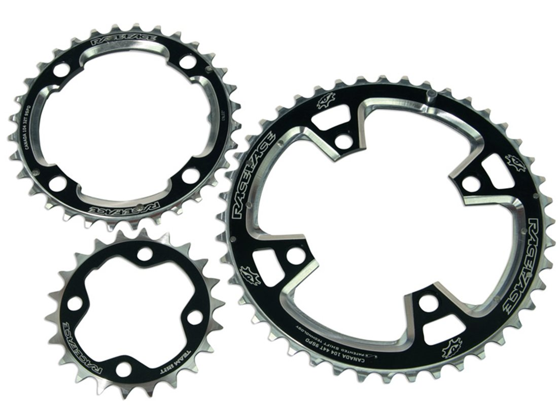 Race Face Team 9 Speed Chainring Set