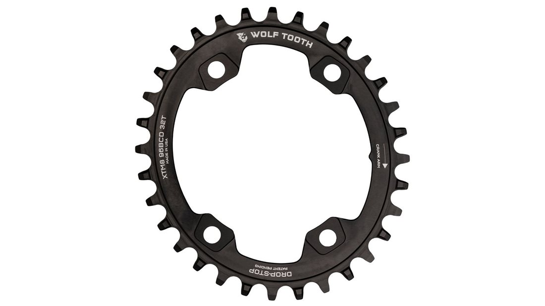 Wolf Tooth Powertrac Chainring 96 Bcd Jenson Usa