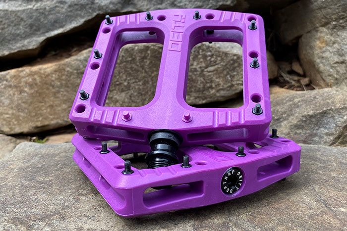 First Look: Deity Deftrap Composite  Pedals
