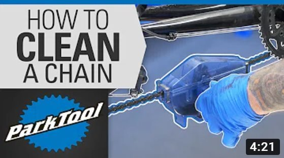 Park Tool: How To Clean and Lube a Bicycle Chain with a Park Tool Chain Cleaner