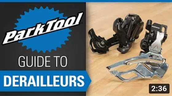 Park Tool: Guide to Derailleurs & Shifting