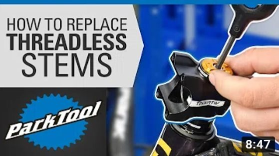 Park Tool: How to Replace a Bicycle Stem - Threadless