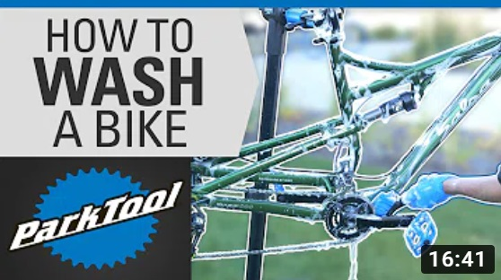 Park Tool: How to Wash a Bike