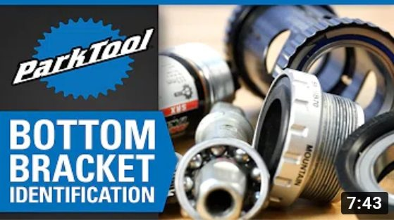 Park Tool: What Type of Bottom Bracket do I Have?