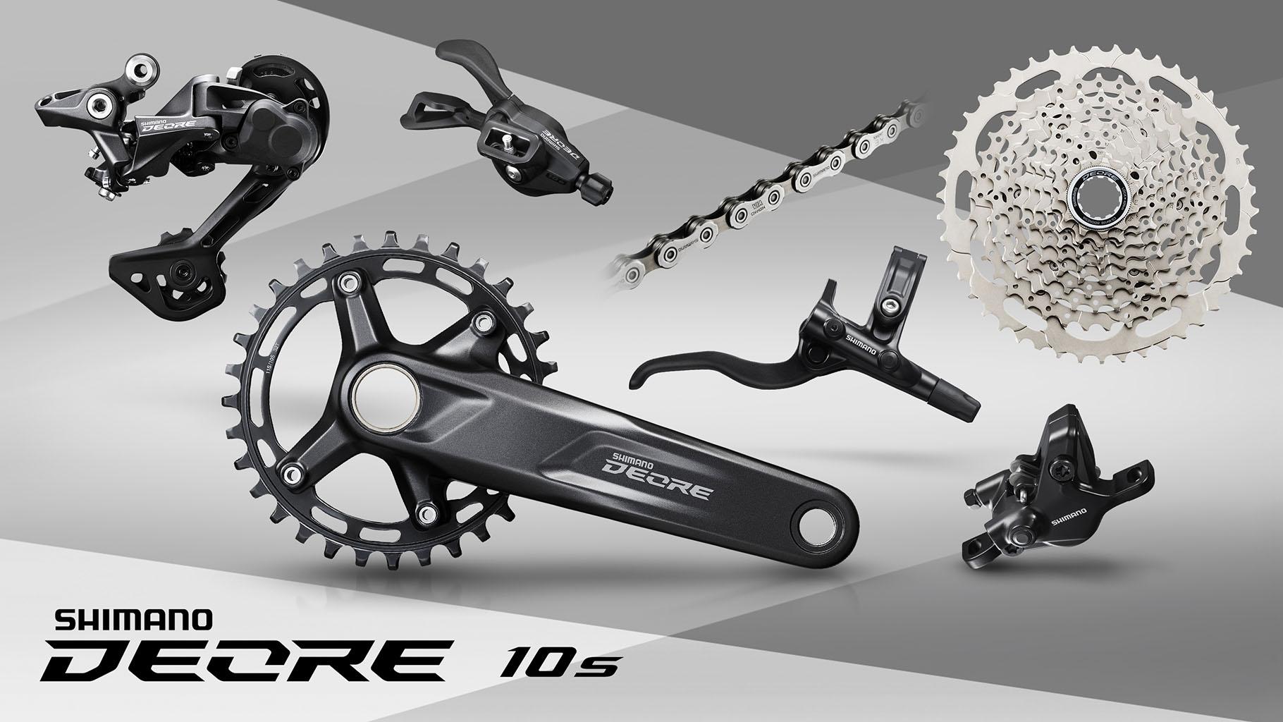 New 2021 Shimano Deore M6100 12-speed Hydraulic Brake Groupset 170//175mm 10-51t