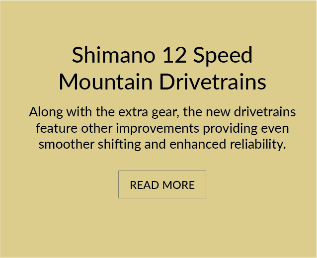 Shimano 12-Speed Mountain Drivetrains