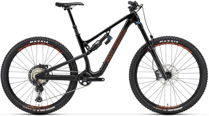 rocky mountain altitude full suspension mountain bike