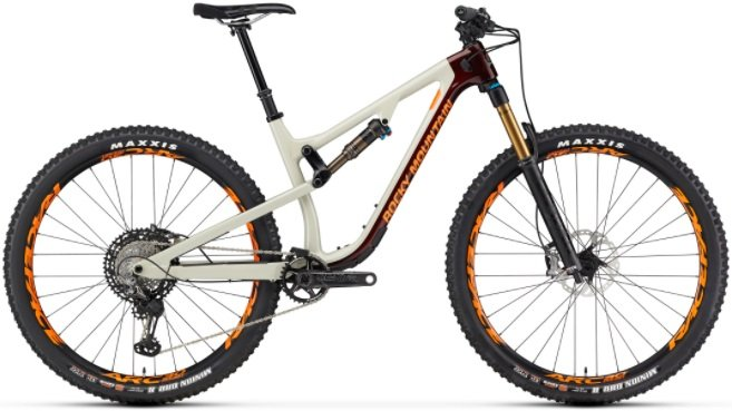 rocky mountain instinct full-suspension mountain bike