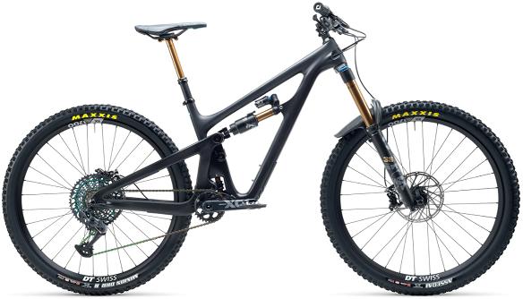 yeti sb 165 high performance mountain bike
