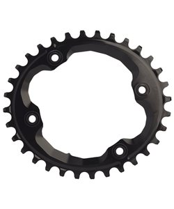 AbsoluteBlack | | XTR Asym Oval Chainring | Black | 30 Tooth, 4 X 96mm