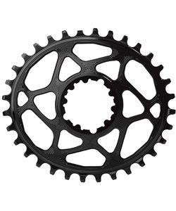 Absolute Black SRAM Oval DM Non-Boost Chainring