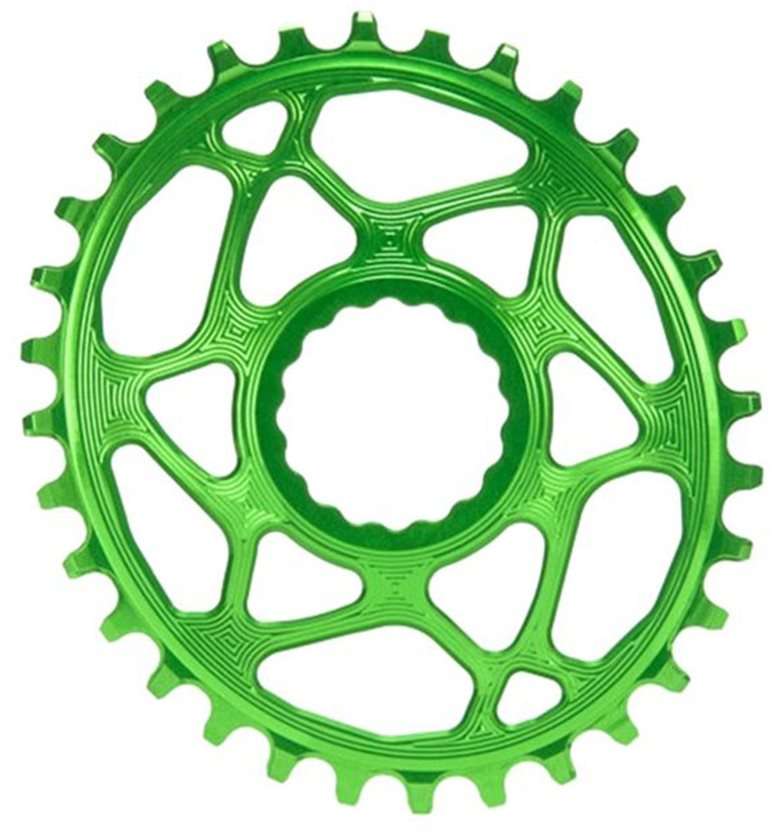 Absolute black Raceface Cinch Oval N//W Boost148 34T chainring