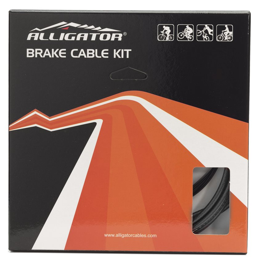 ALLIGATOR Sleek Glide Brake Cable Set Black