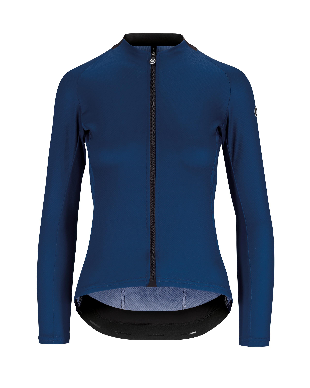 Assos UMA GT Wmns Summer LS Jersey 2019 Women's Size Medium in Caleum Blue