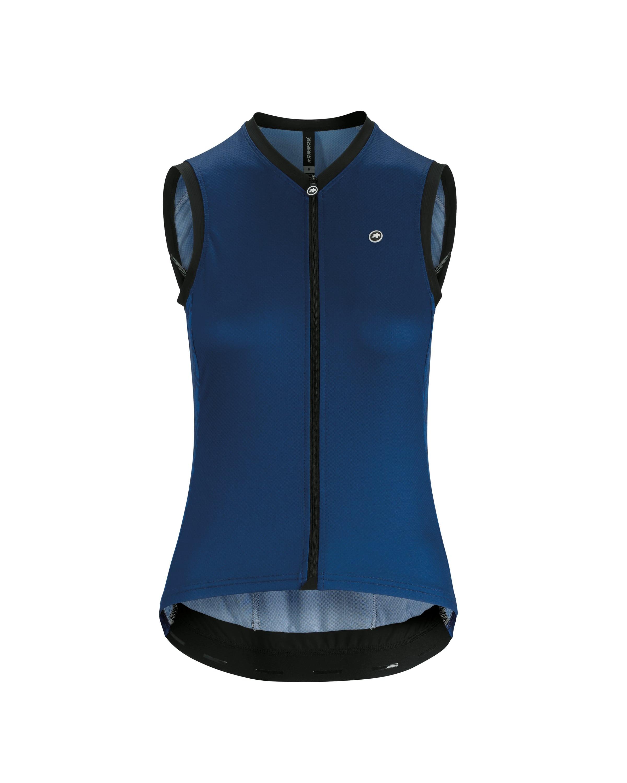 Assos | Women's UMA GT NS Jersey | Size Medium in Caleum Blue