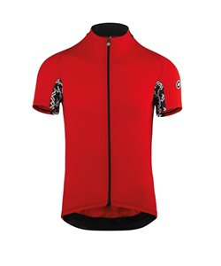 Assos Mille GT Short Sleeve Jersey Men's Size Medium in National Red