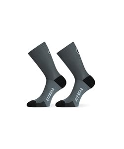 Assos XC Socks Men's Size Medium/Large in Torpedo Grey