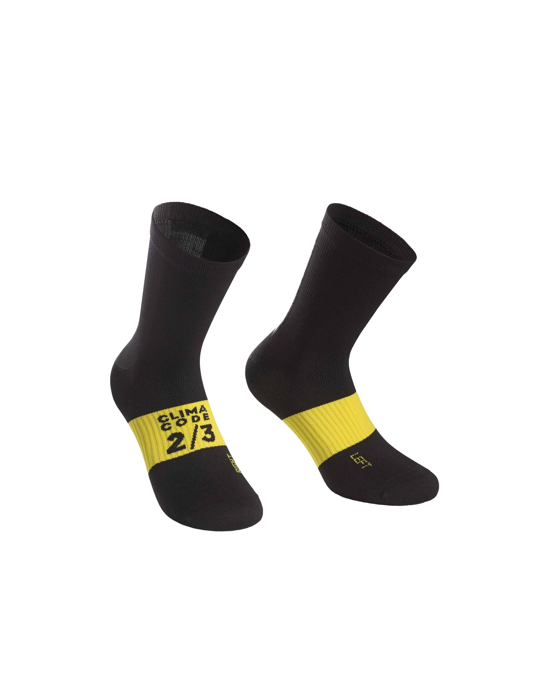 Assos | Assos | oires Socks Men's | Size Small in Black