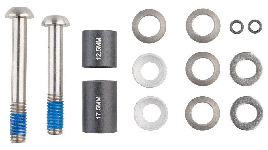 20mm Postmount Brake Caliper Adaptor Stainless Bolts Fitting Kit Sram Avid