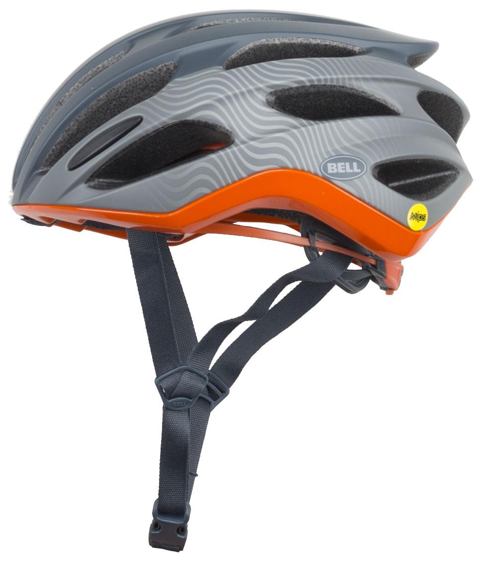 Bell Formula Mips Road Helmet 2019 Men's Size Large in Slate/Gray/Orange