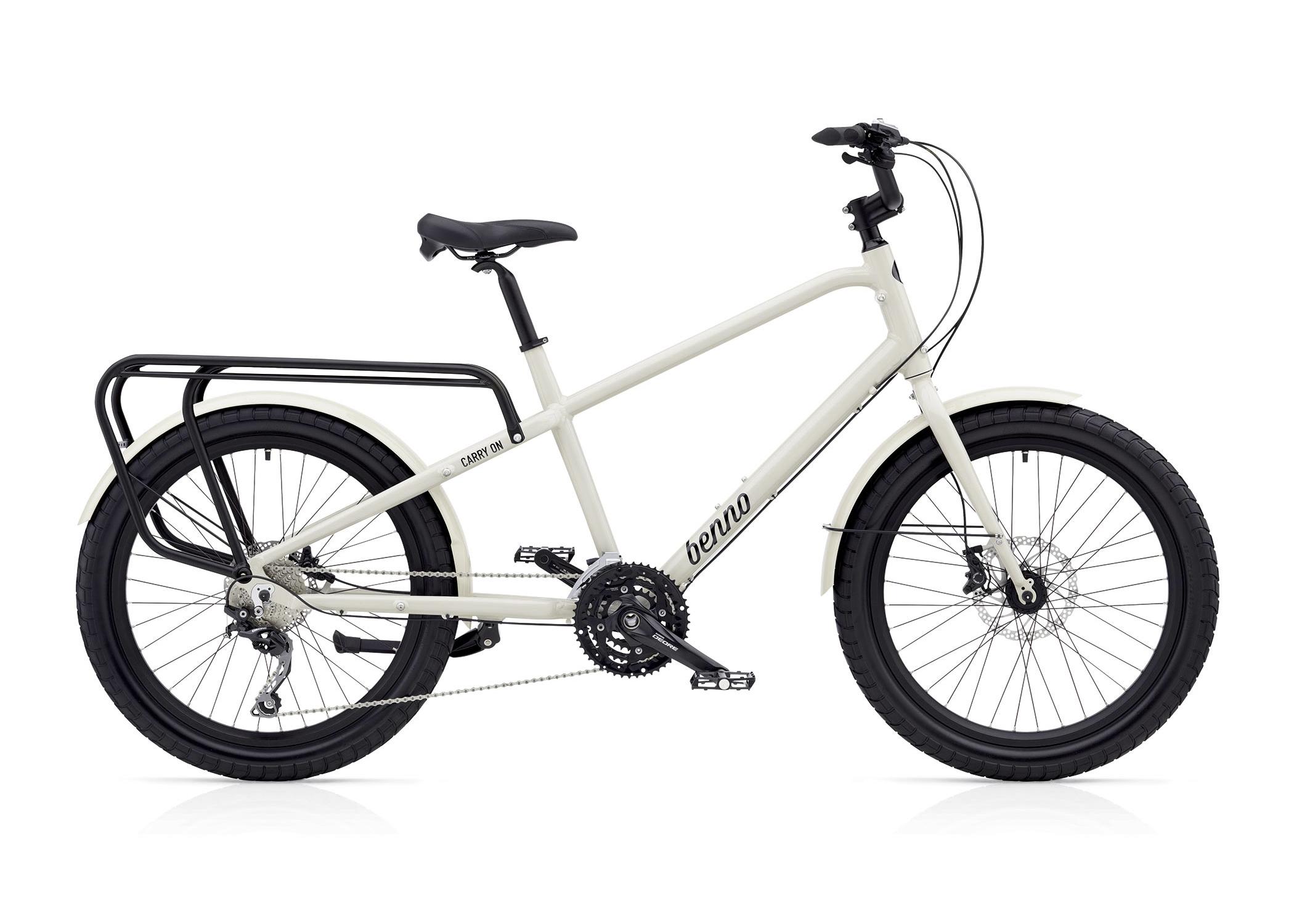 benno white cargo bicycle