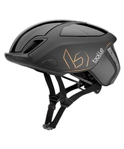 Bolle The One Road Helmet Men's Size Small in Premium Matte/Gloss Black