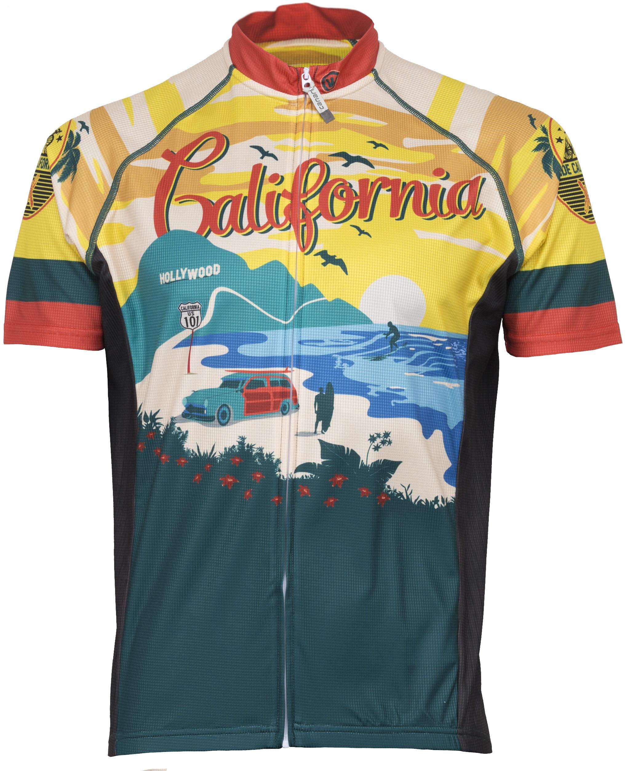 Canari Men's California Retro Jersey