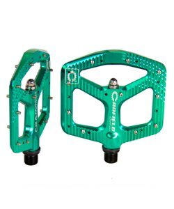 Canfield | Crampon Ultimate Pedals Turquoise | Aluminum