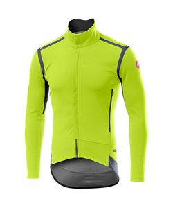 Castelli | Perfetto RoS L/S Jersey Men's | Size Extra Large in Yellow Fluo