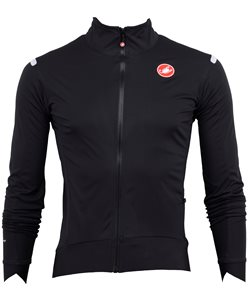 Castelli Alpha Ros Light Jacket Men's Size Small in Light Black/Black