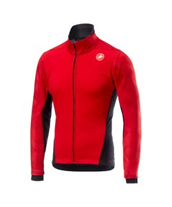 Castelli Mitico Jacket Men's Size Extra Large in Red
