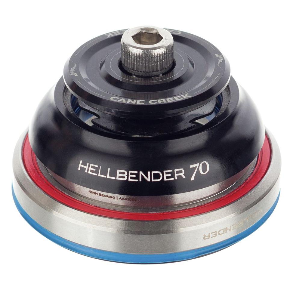 Black IS41//28.6 Upper Cane Creek Hellbender 70 Complete Headset IS52//40 Lower