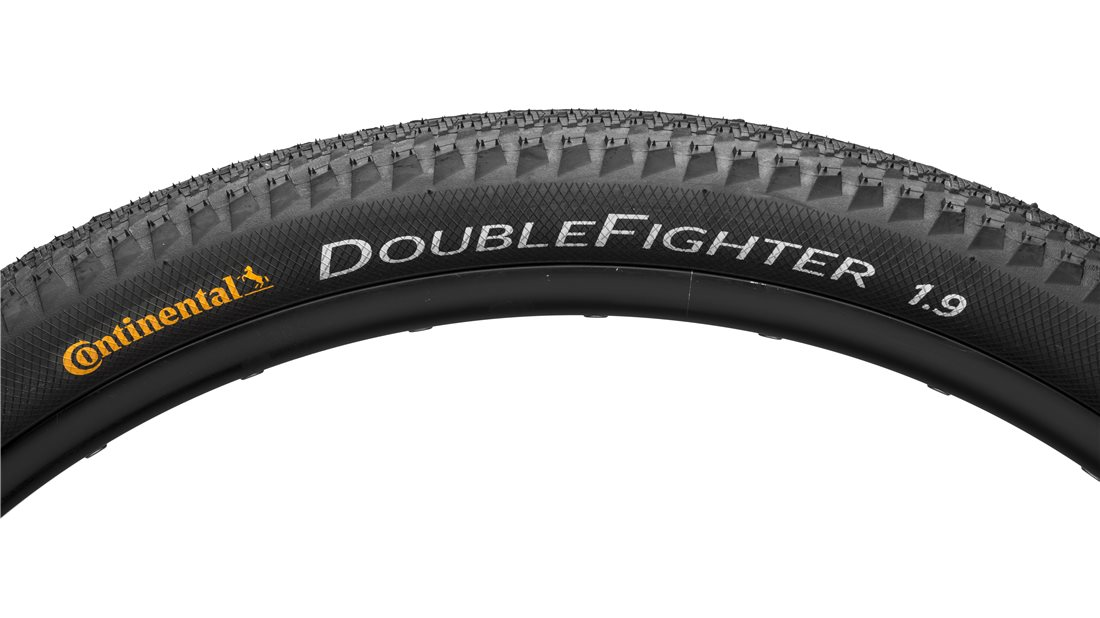 1 or 2-PACK Continental Double Fighter III 26 x 1.9 Urban Street Commuter Tire