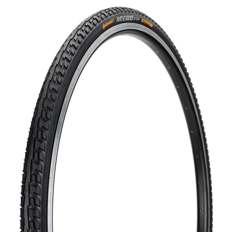 """Continental Bike Tyre Ride Tour Rigid in Black 28 x 1 1//2/"""" Bicycle Tire"""