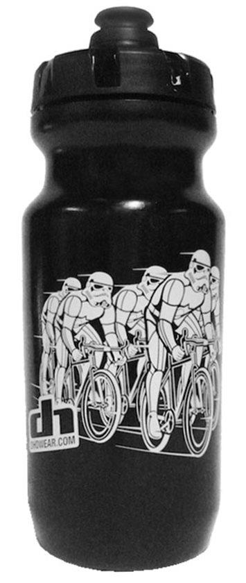 Red Black Road MTB TT NYC Velo Cycling Bottles Bidons Purist 21oz For Charity