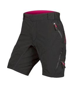 Endura | Women's Hummvee Short II with Liner | Size Large in Black