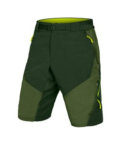 Endura | Hummvee Short II with liner Men's | Size Extra Large in Olive Green