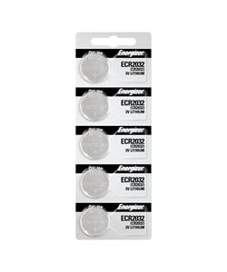 Energizer CR2032 Computer Batteries, 5 Pack