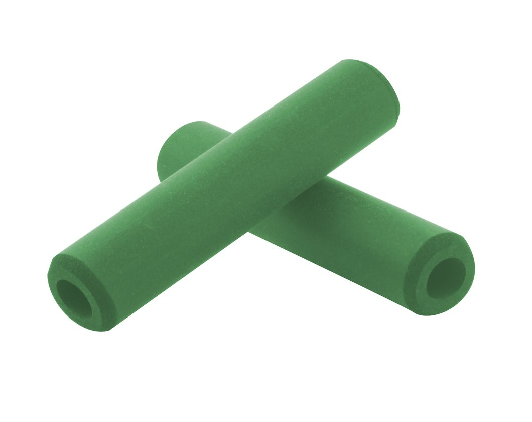ESI CHUNKY SILICONE 32MM GREEN MTB BICYCLE GRIPS