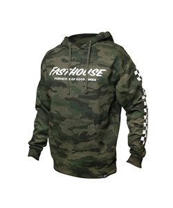 Fasthouse   Youth Logo Hooded Pullover Men's   Size Large in Camo