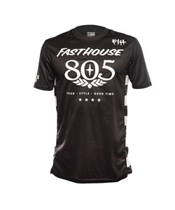 Fasthouse | 805 Short Sleeve Jersey Men's | Size Small in Black