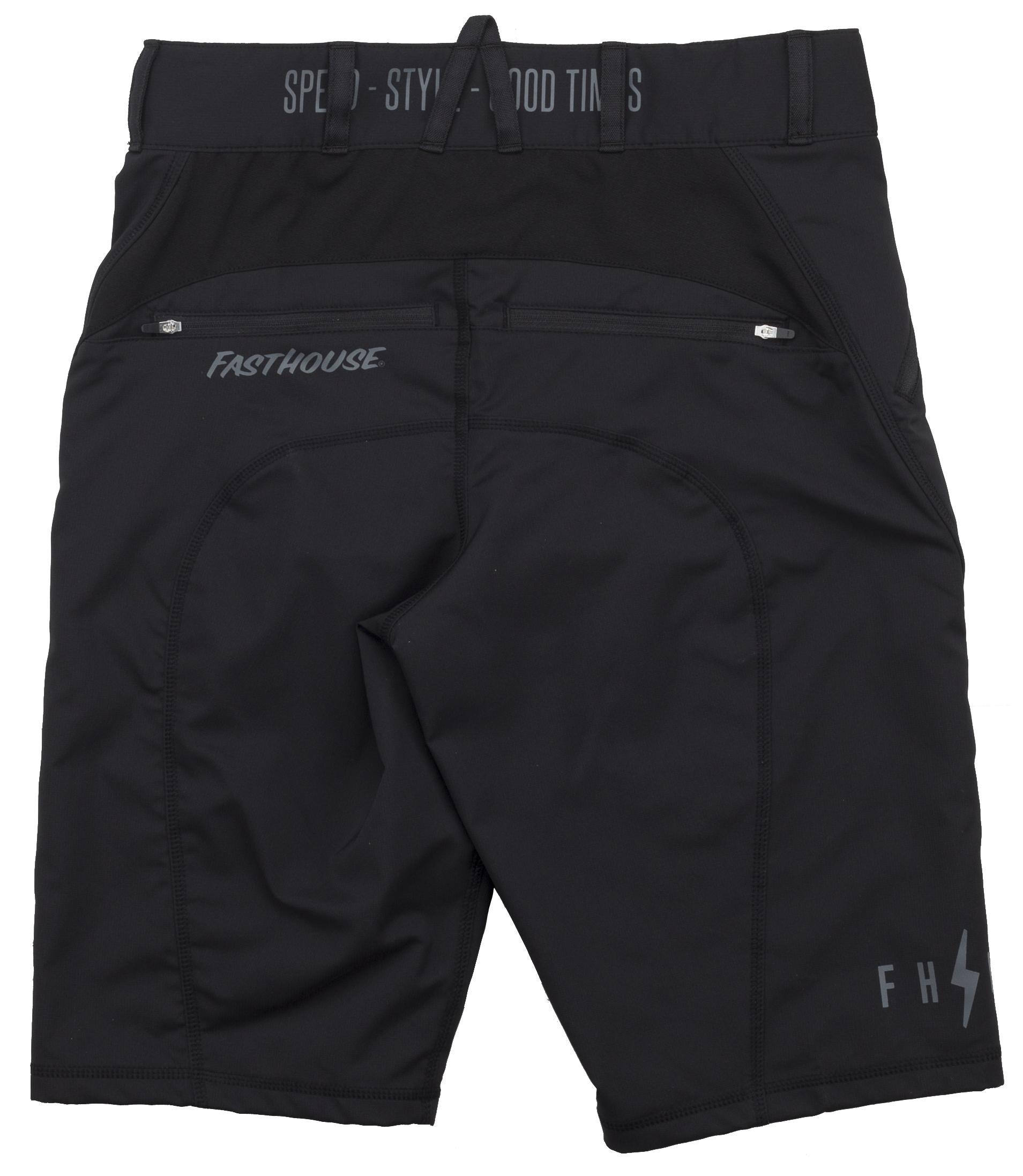 Fasthouse Crossline MTB Shorts Men's Size 42 in Black