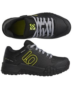 Five Ten Impact Sam Hill Shoes Men's Size 8 in Black/Grey/Semi Solar Yellow