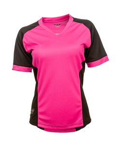 Fly Racing | Lilly Ladies Jersey Women's | Size Extra Small in Black/Pink