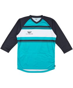 Fly Racing Ripa 3/4 Jersey Men's Size Small in Teal