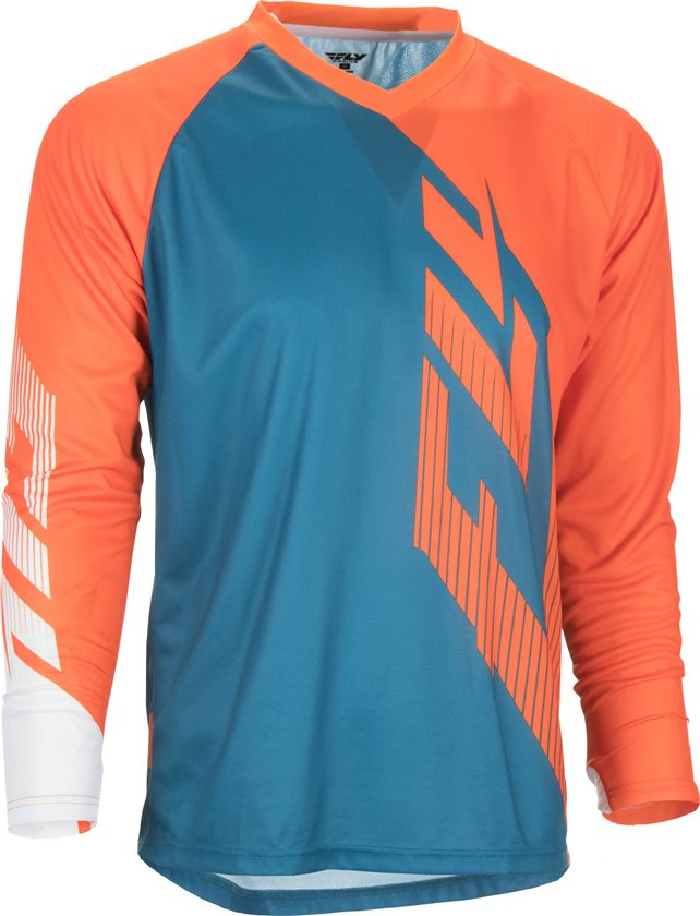 Fly Racing Lightweight Base Layer Long Sleeve Top Black, Large