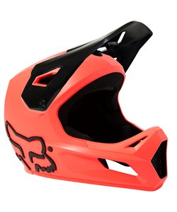 Fox Apparel | Youth Rampage Helmet | Size Large in Atomic Punch