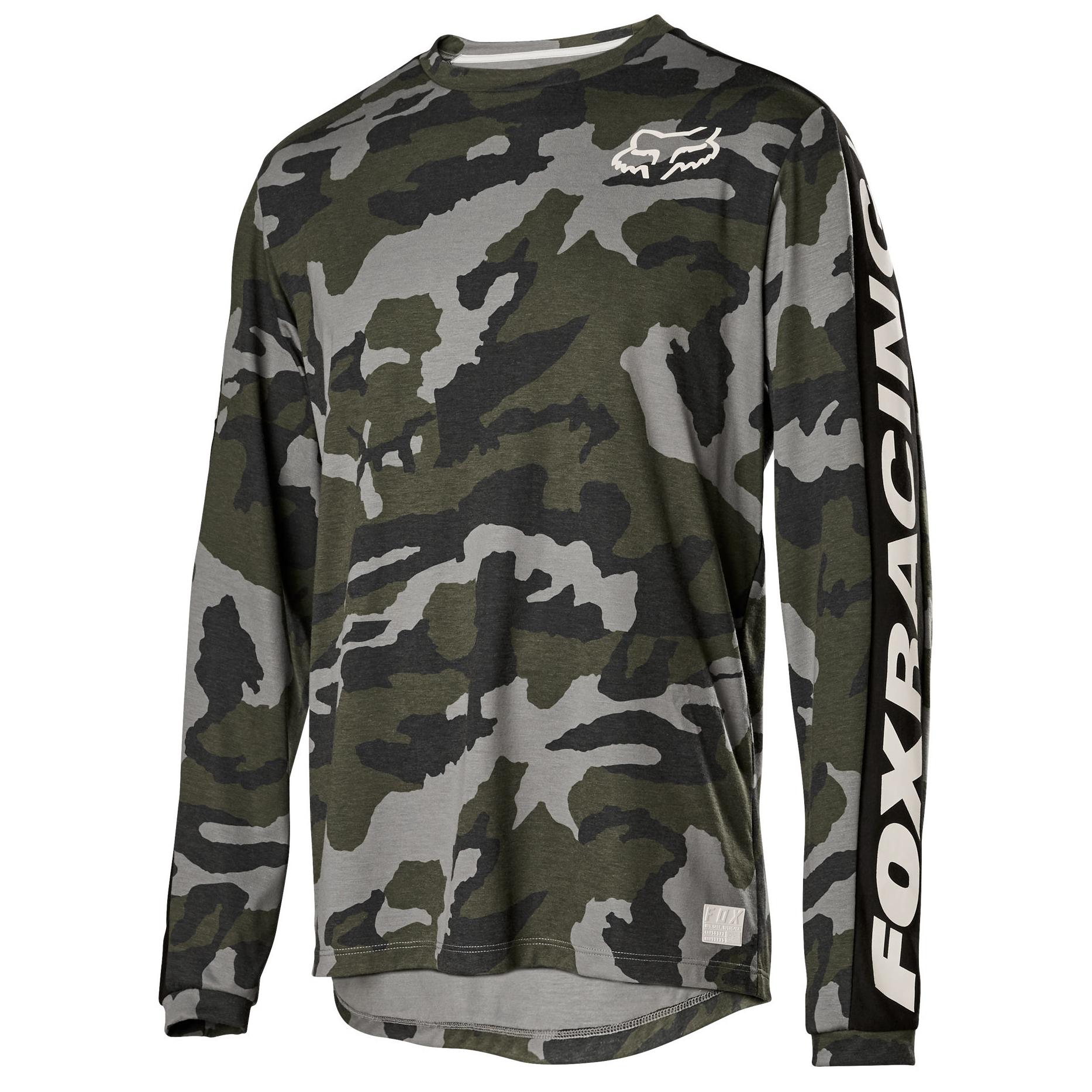 Fox Mens Locked Long Sleeve Thermal Shirt